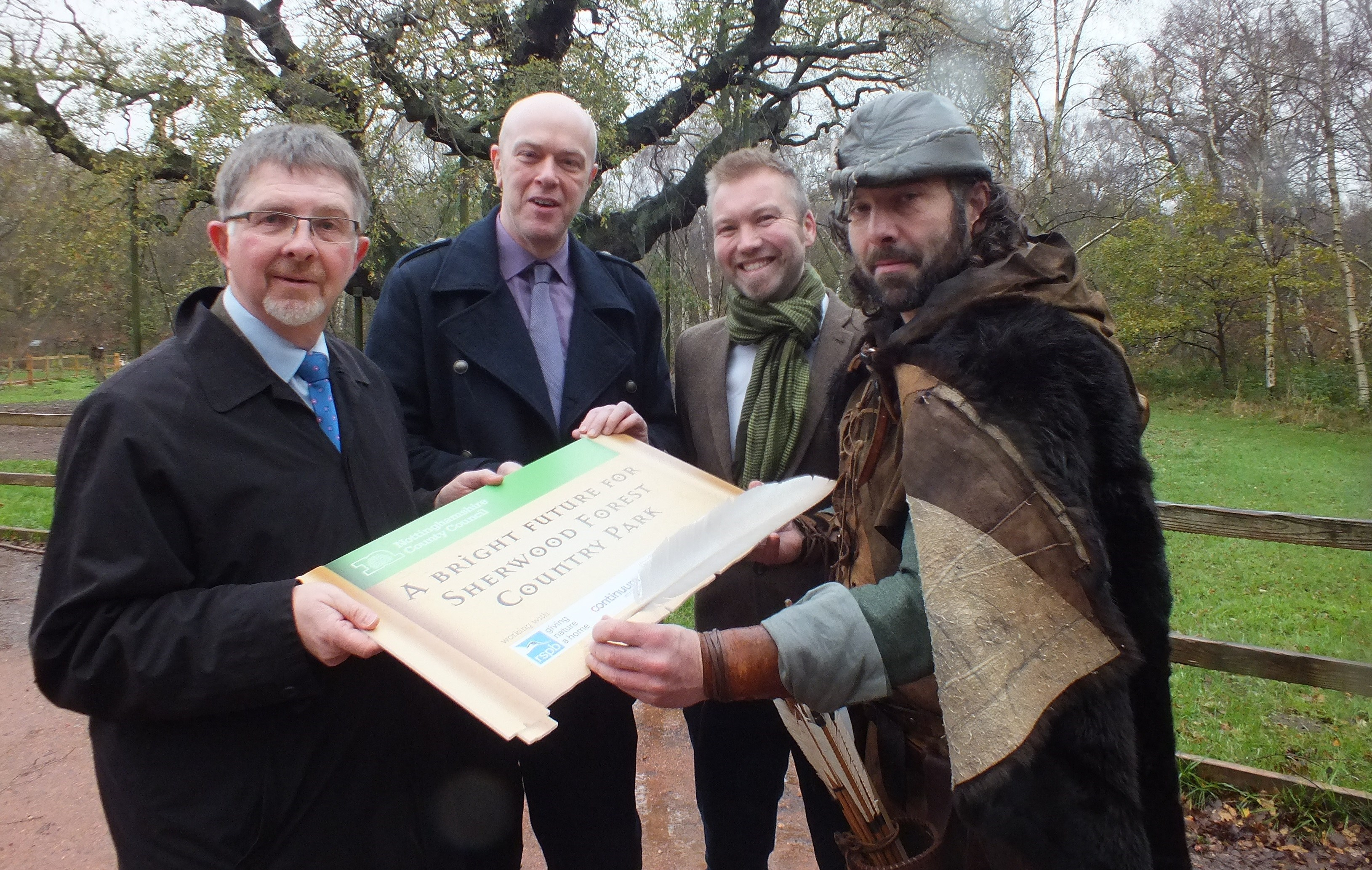 A bright new chapter for Sherwood Forest
