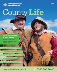 Cover of County Life magazine 2015