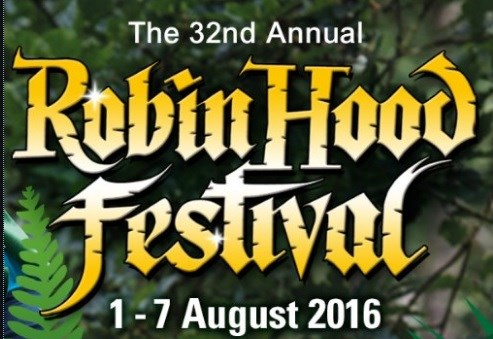 Official opening ceremony of 32nd annual Robin Hood Festival