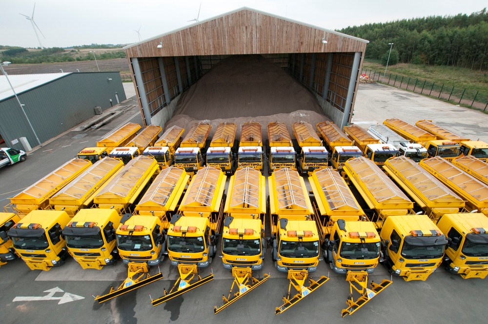 Gritters on stand-by!