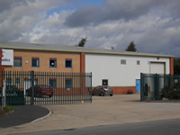 Factory units in Huthwaite