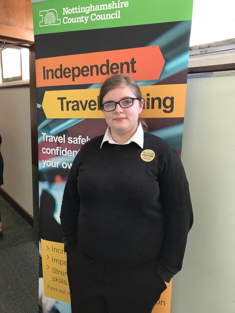 Awards for Notts pupils on board with independent travel