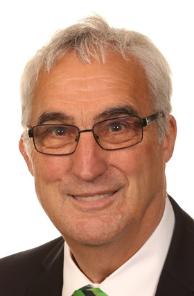 Councillor John Handley, Chairman of Nottinghamshire County Council 04 October 2017