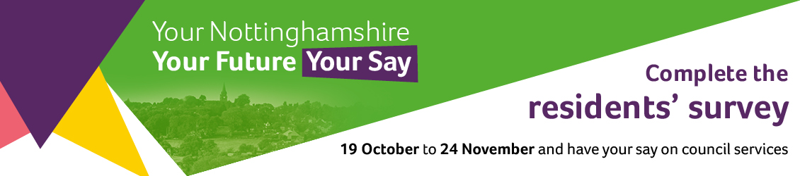 Compete the residents' survey: 19 October to 24 November