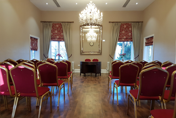 Wedding venue in Nottingham - Bridgford Hall Registry Office