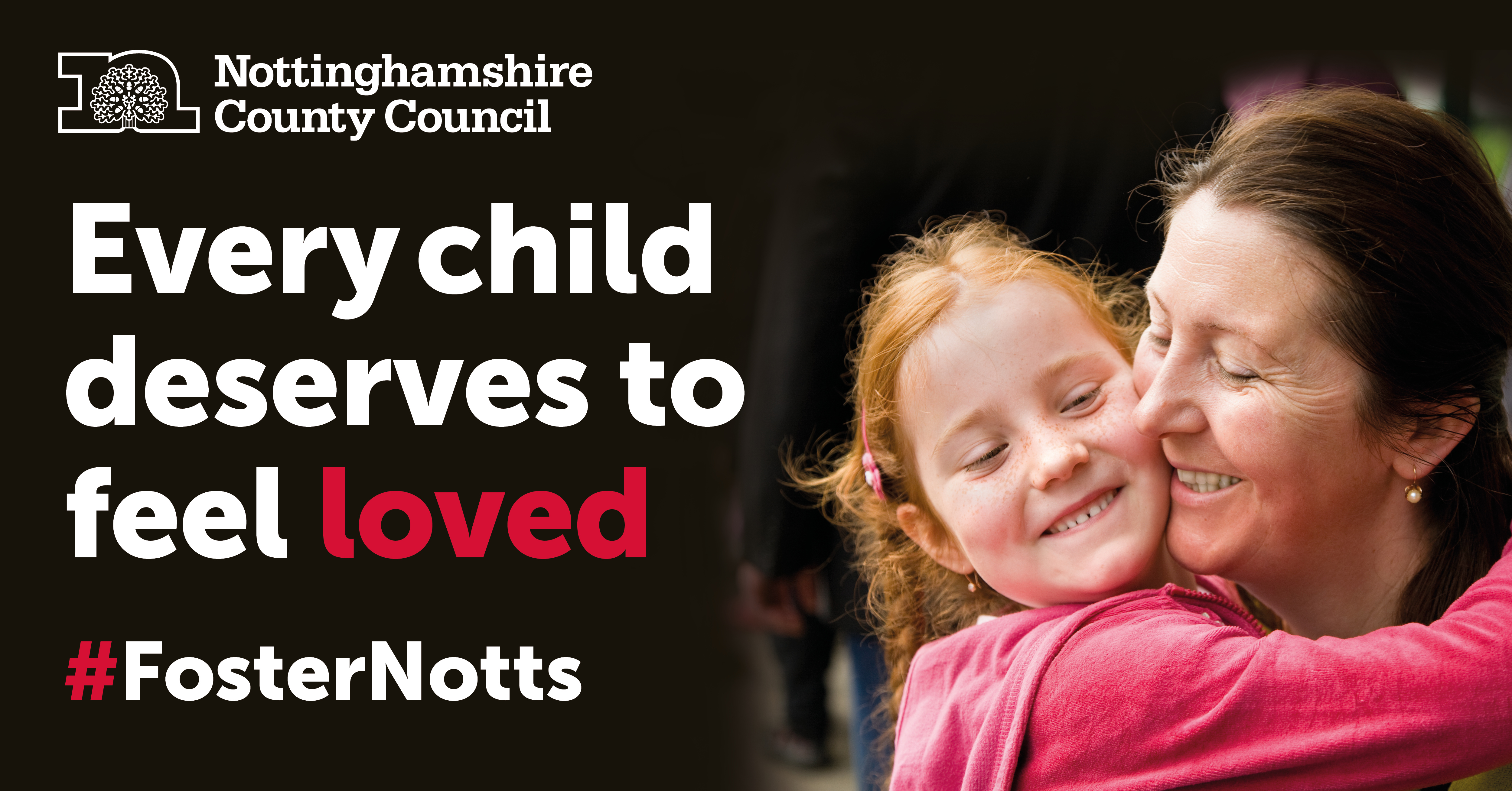 Children we place with foster carers | Nottinghamshire