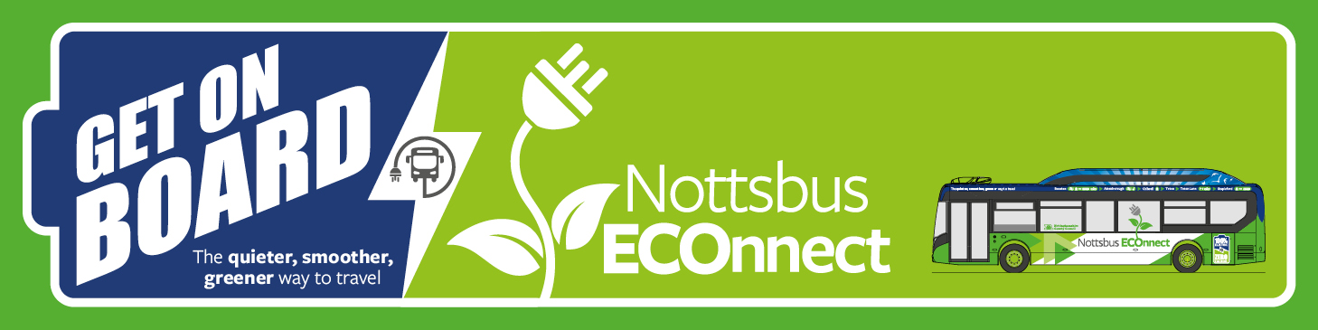 Nottsbus ECOnnect banner