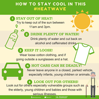 Key tips to stay safe in the sun