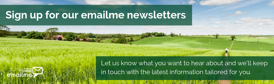 Sign up to our emailme newsletters