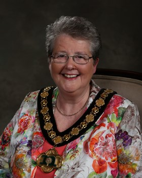 Councillor Sue Saddington, Nottinghamshire Couty Council Chairman