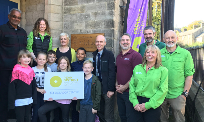 St Michael's Centre becomes the first Ambassador Centre for the Peak District National Park
