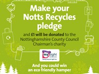 Notts Recycles pledge is a great way to get young people thinking about the environment