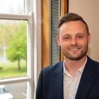 The new leader of Nottinghamshire County Council Ben Bradley
